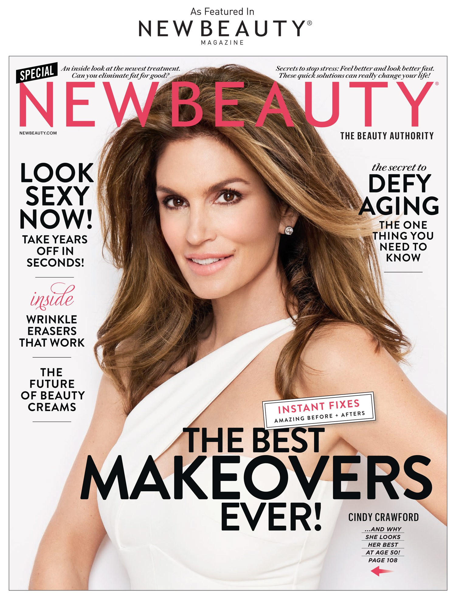 Dr. Francis is featured in this article of New Beauty January issue - cover